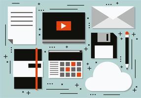 Illustration vectorielle de marketing créative