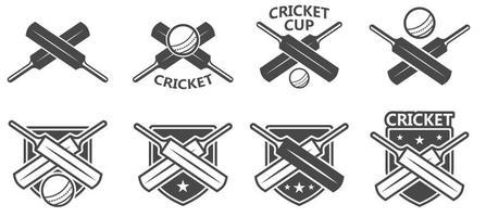 Insigne de cricket gratuit vecteur