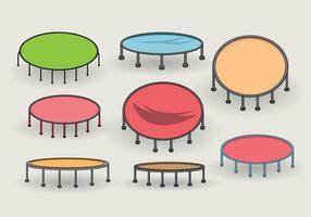 Vecteur trampoline simple gratuit