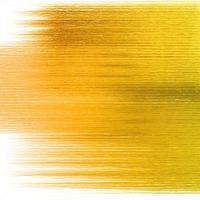 fond de texture de pinceau abstrait or vecteur