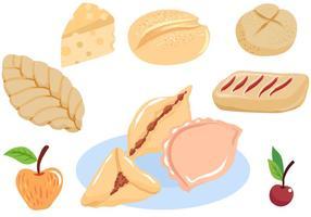 Vecteurs de pâtisserie gratuits vecteur