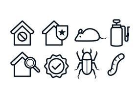 Icônes gratuites de lutte antiparasitaire
