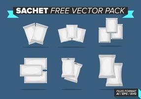 Paquet de sachet gratuit pour vecteur