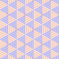 modèle sans couture de triangle rayé pastel géométrique