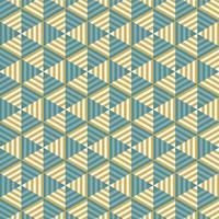 modèle sans couture triangle rayé abstrait vecteur