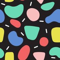 texture transparente motif organique coloré vecteur