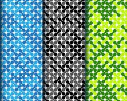 motif metaballs coloré