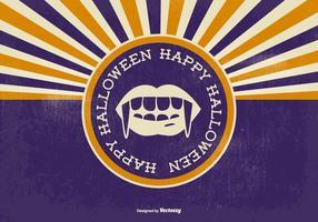 Illustration de halloween vecteur