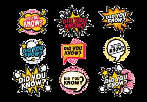 Sticker vectoriel trivia