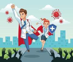 super médecins vs covid19