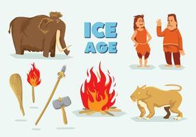 Vecteur gratuit de l'âge de glace