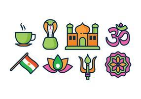 Icônes libres de l'Inde