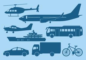 Icône de transport