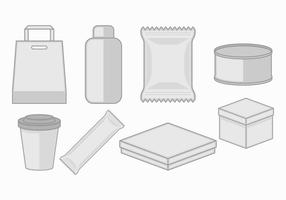 Icône d'emballage vecteur