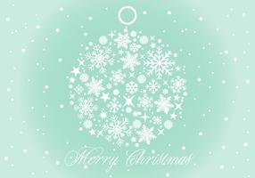 Vector Illustration de fond de Noël