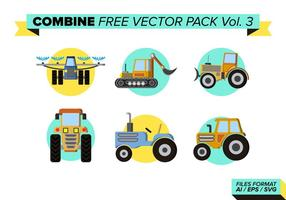 Combiner pack vecteur gratuit vol. 3