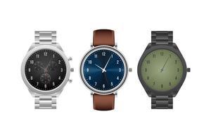 montre-bracelet classique isolée
