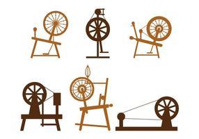 Vecteur de roue tournante