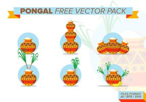Pack de vecteur gratuit pongal