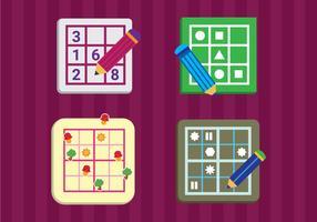 Illustration vectorielle gratuite de Sudoku vecteur