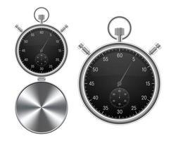 chronomètres réalistes isolés