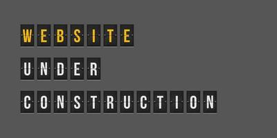 site Web en construction