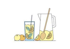 Vecteur de limonade gratuit