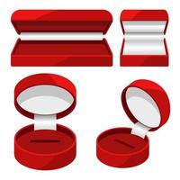 boîte à bijoux ouverte