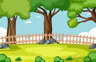 scène de parc naturel