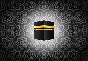 Dark Ka'bah in Mecca Vector