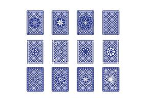 Free Back Card Back Vector