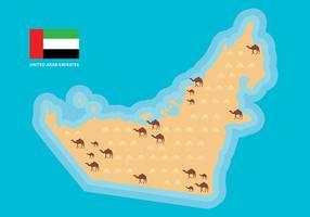 Carte vectorielle EAU