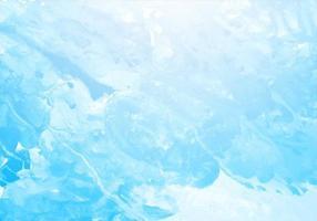 belle éclaboussure bleue
