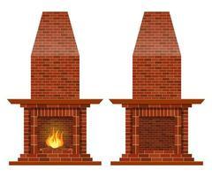 cheminée vintage élégante