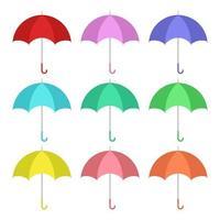 parapluie isolé sur fond blanc