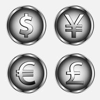 jeu de symboles monétaires