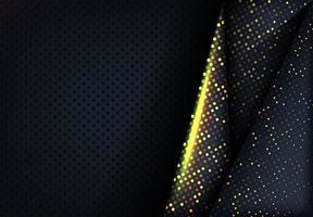 texture pointillée moderne avec des points scintillants dorés