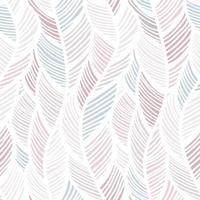 motif de plumes pastel vague abstraite vecteur
