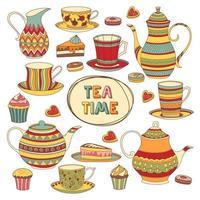 collection de l'heure du thé