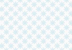 Modèle de flocons de neige Vector Free