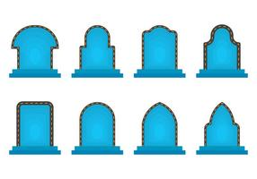 Icône du portail vecteur