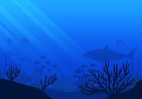 Vecteur des fonds marins gratuits