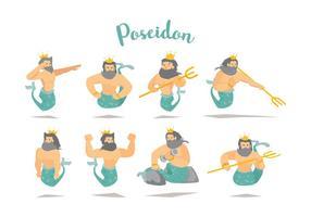 Vector Poseidon gratuit