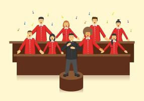 Vecteur chœur gratuit