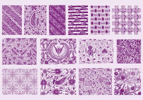Textures toile violette vecteur
