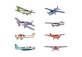 Pack Vector Free Cessna Airplane