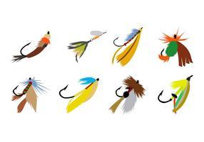 Vecteur d'appât de pêche gratuit
