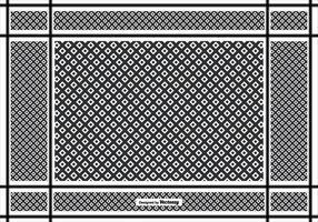 Fond d'écran Keffiyeh Pattern vecteur