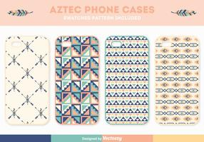 Ensemble de vecteur de téléphone téléphone aztèque gratuit