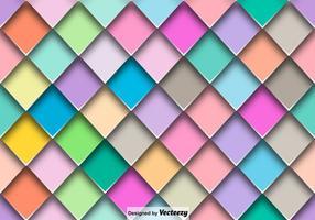 Vecteur résumé carreaux colorés motif sans couture